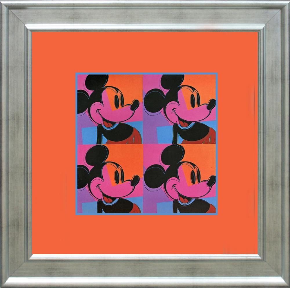 Lot 4147: Andy Warhol Lithograph printed in Germany 25 years ago