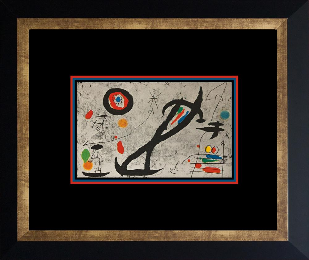 Lot 4204: Joan Miro Lithograph from 1972