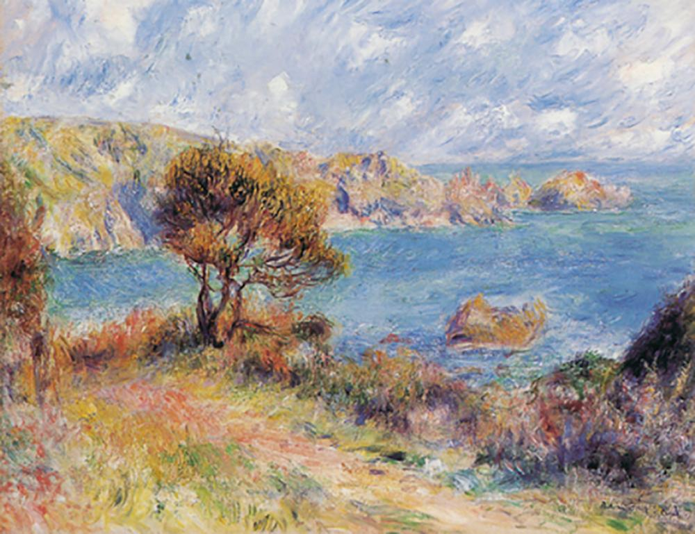 Lot 4210: After Pierre Renoir- Limited Edition-The View at Guernesey