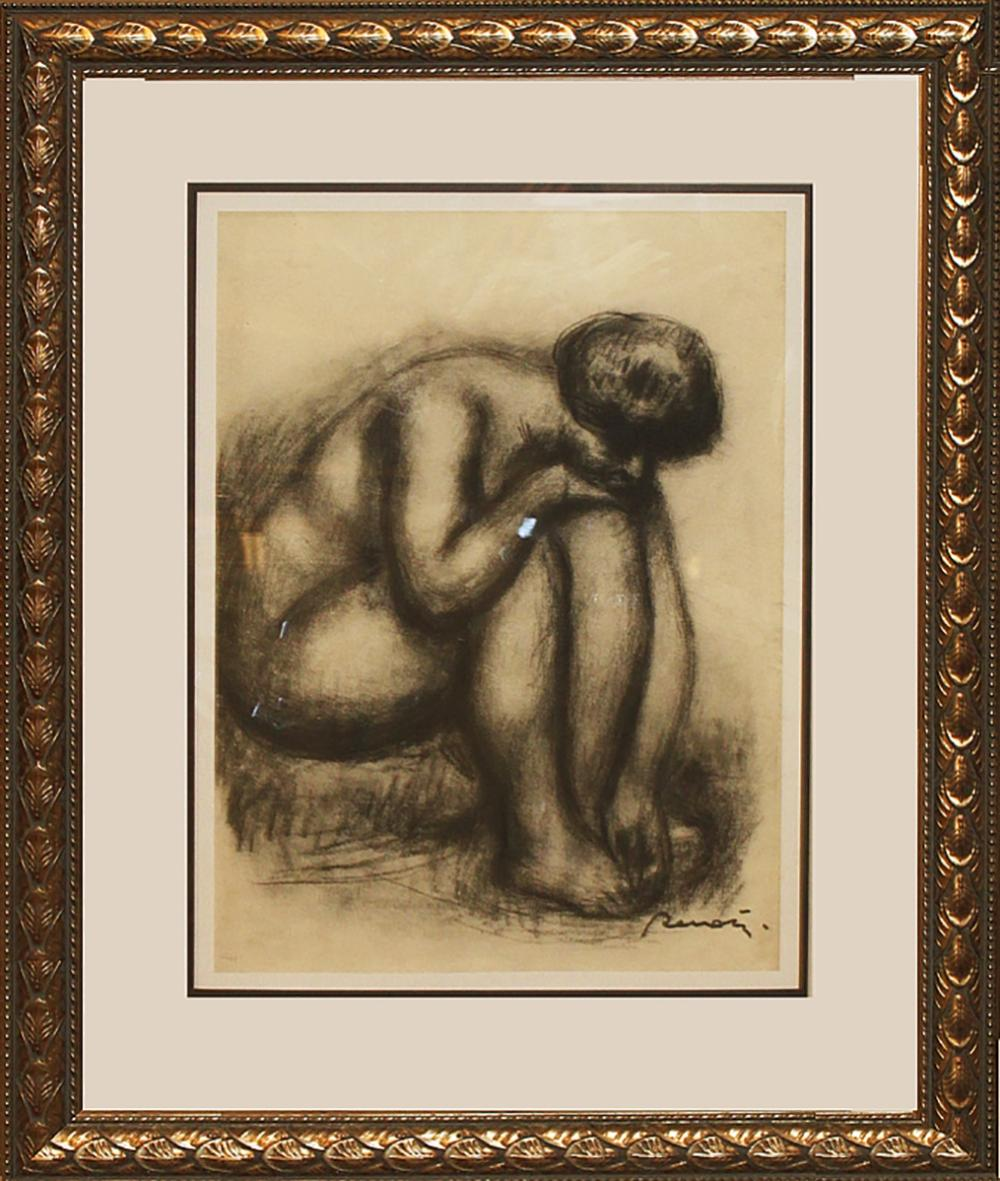 Lot 4209: Etching After Pierre Renoir-Etching-Nude Study