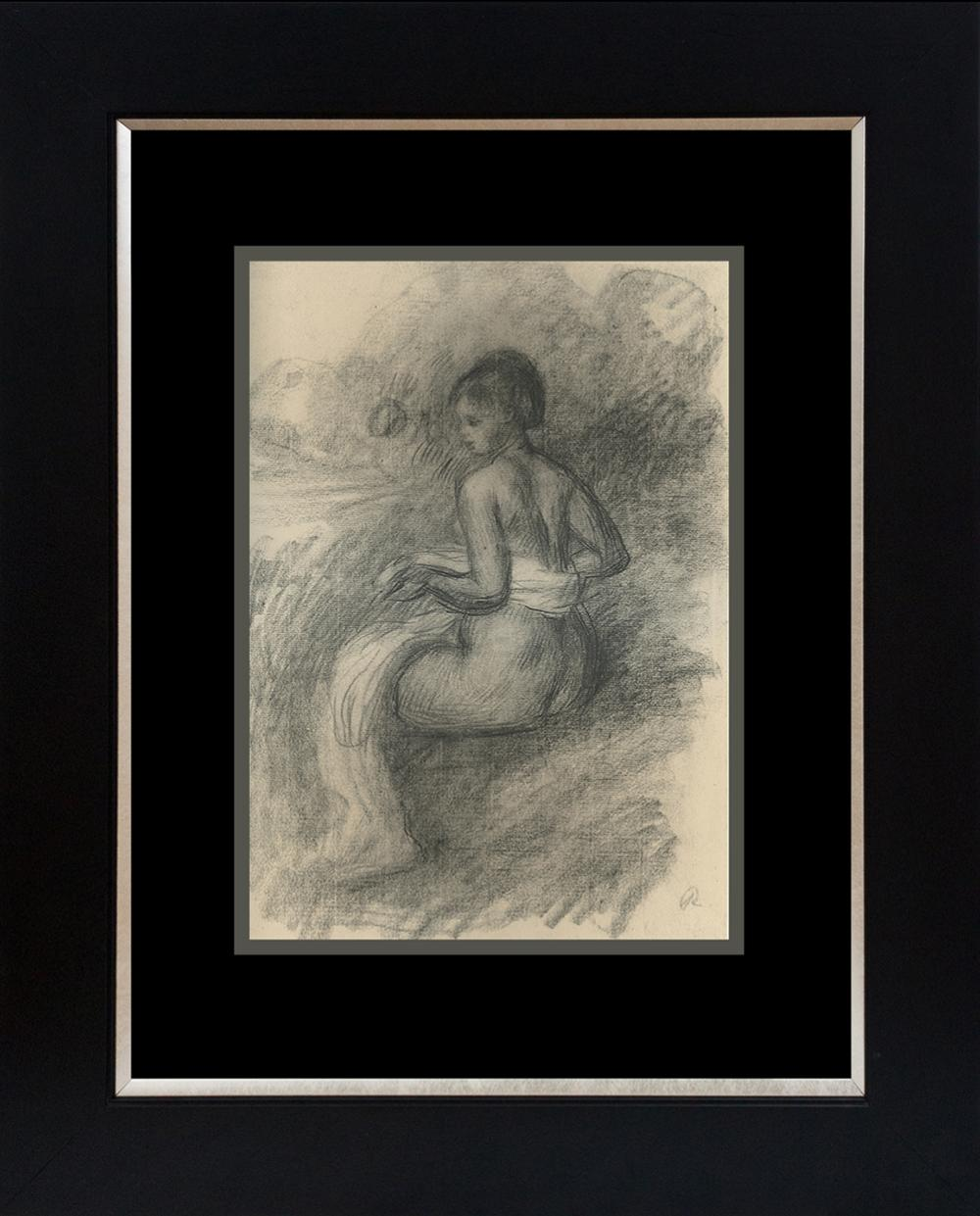 Lot 4211: Renoir color plate lithograph over 60 years ago