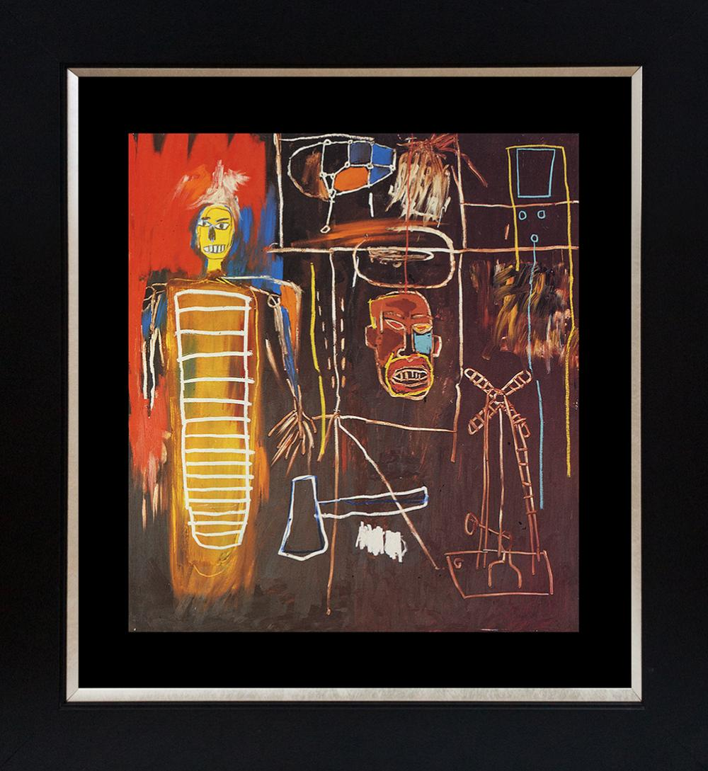 Lot 4408: Jean Michel Basquiat Lithograph from 1991 Air Power