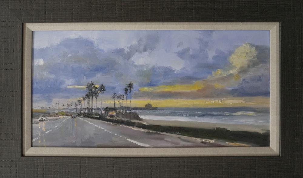 Lot 4321: Original on canvas by Jorn Fox