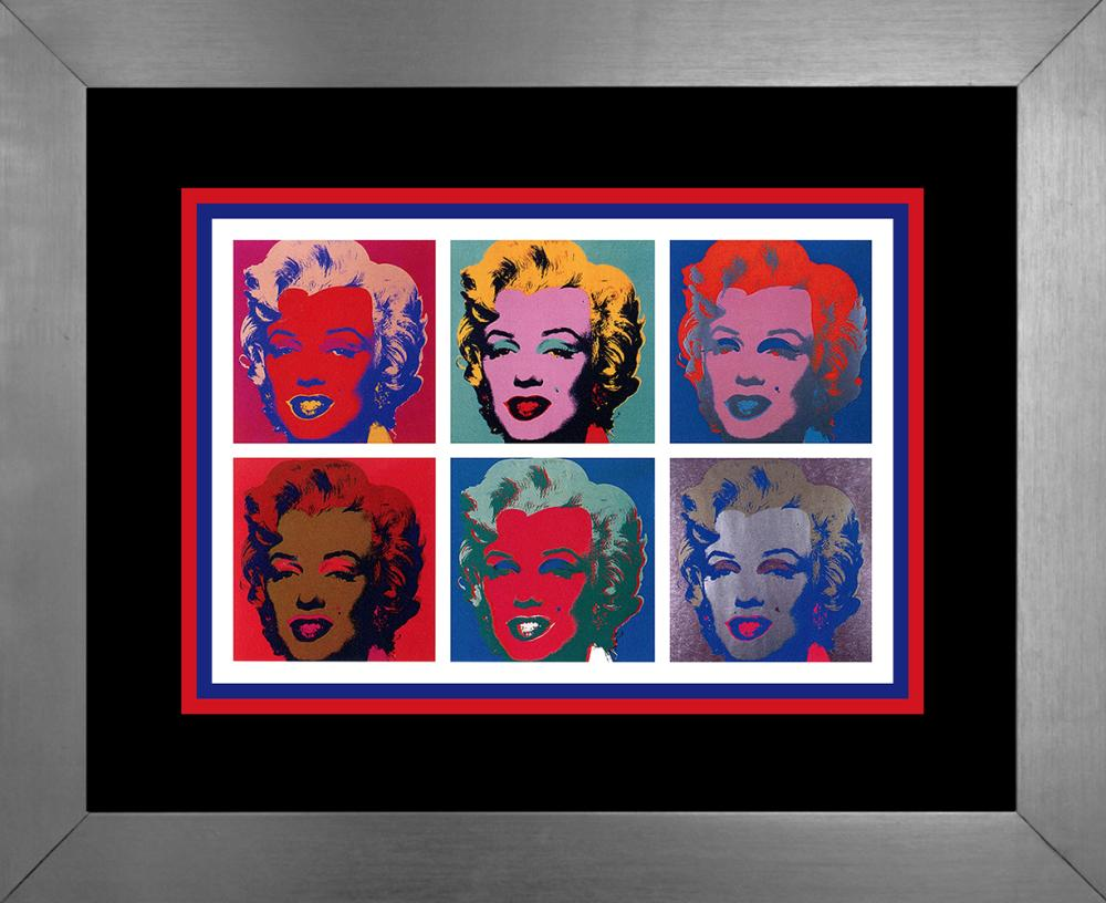 Lot 4411: Andy Warhol Lithograph from 1991