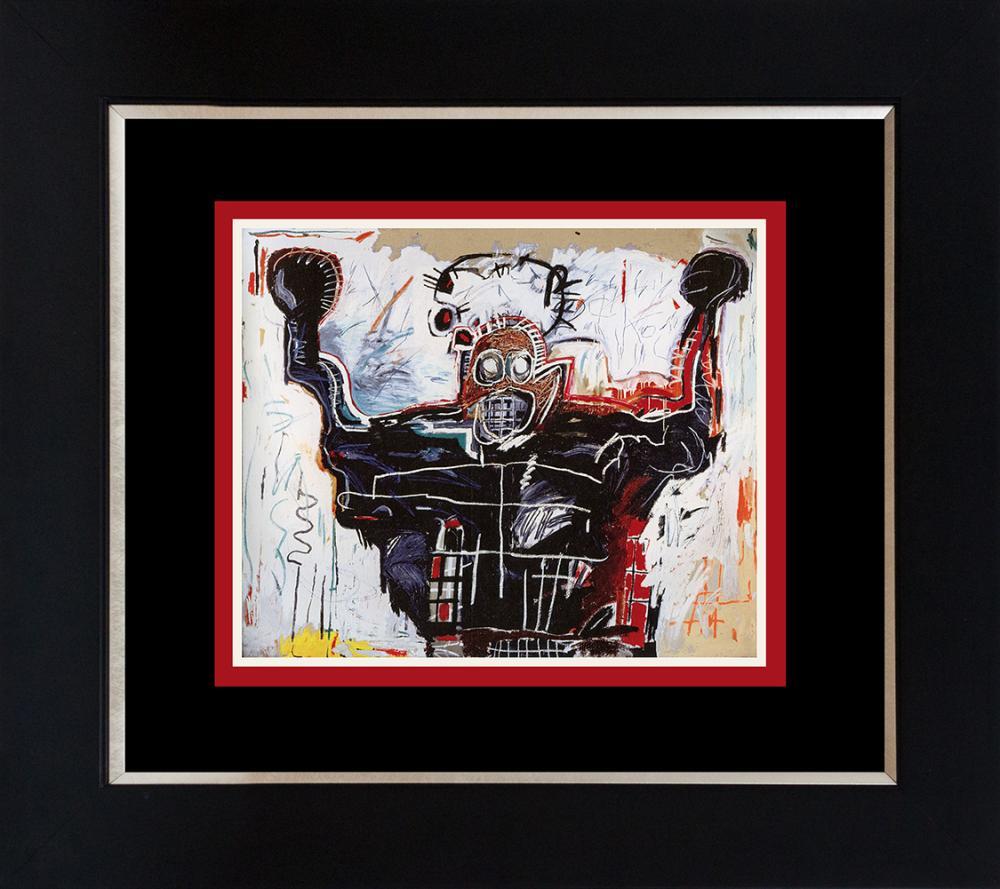 Lot 4407: Jean Michel Basquiat Lithograph