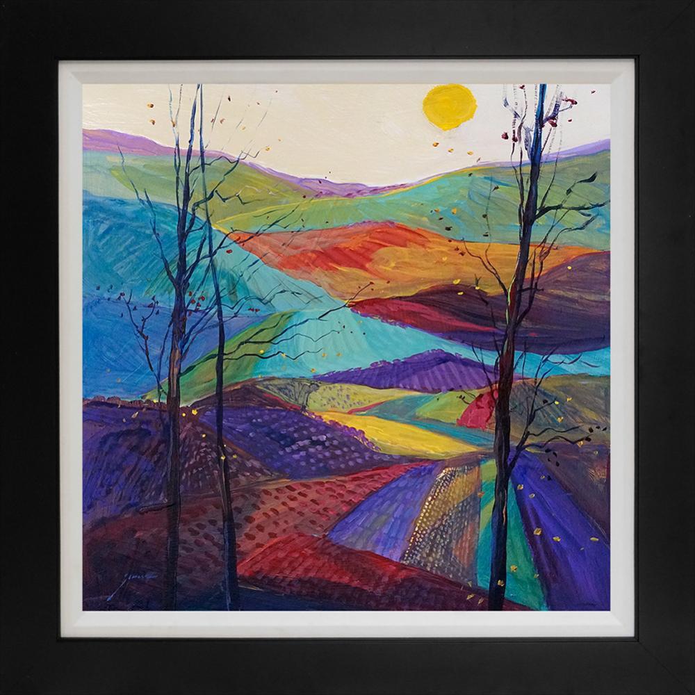 Lot 4214: Michael Schofield original on canvas
