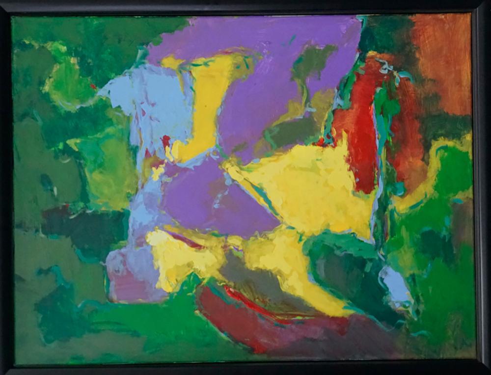 Lot 4500: Michael Schofield original on canvas