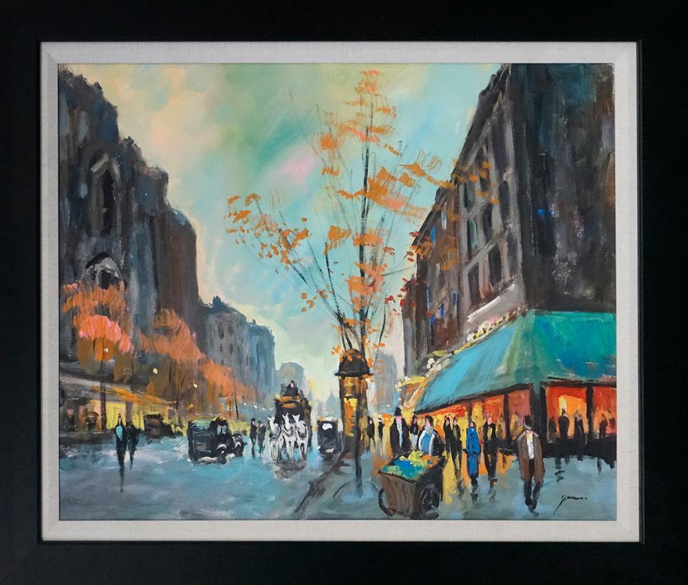 Lot 4804: Michael Schofield original on canvas 24x30 Approx. Image