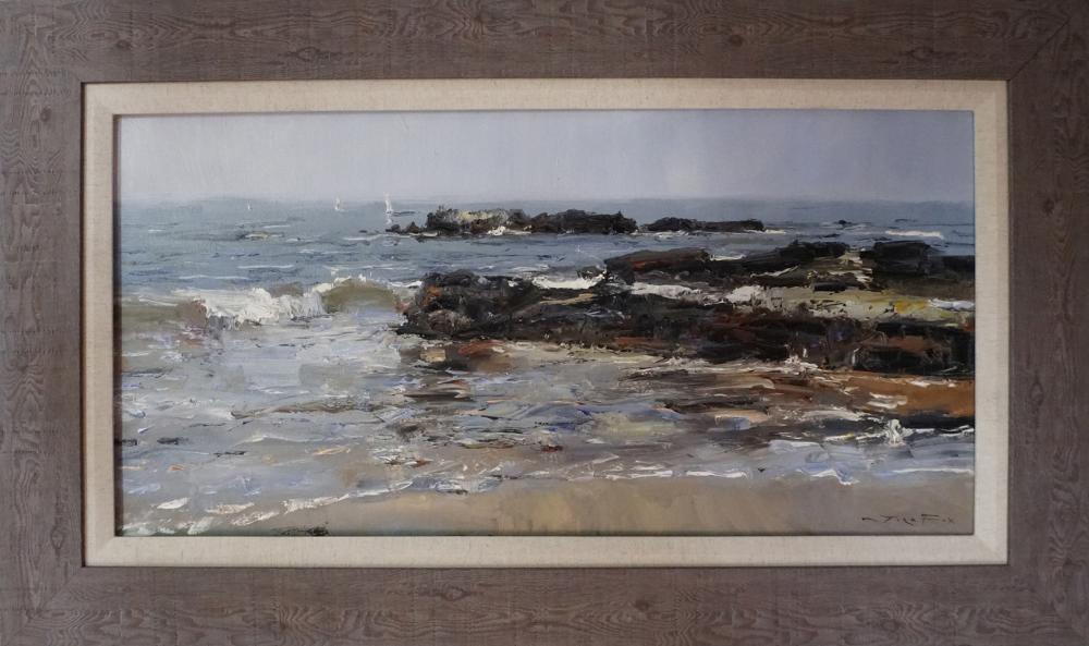 Lot 4320: Original on canvas by Jorn Fox