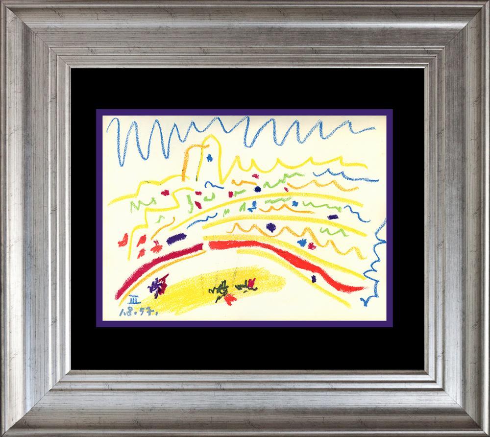 Lot 4805: Pablo Picasso Lithograph 60 years ago Toros y Toreros