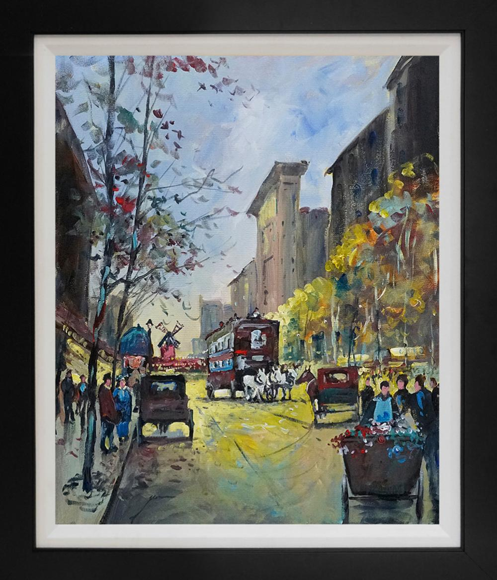 Lot 4818: Michael Schofield original on canvas 18x24 Approx. Image