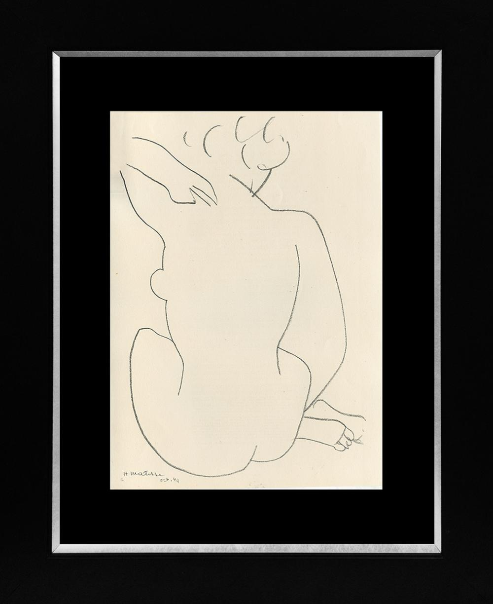 Lot 4830: Henri Matisse Lithograph from 1968
