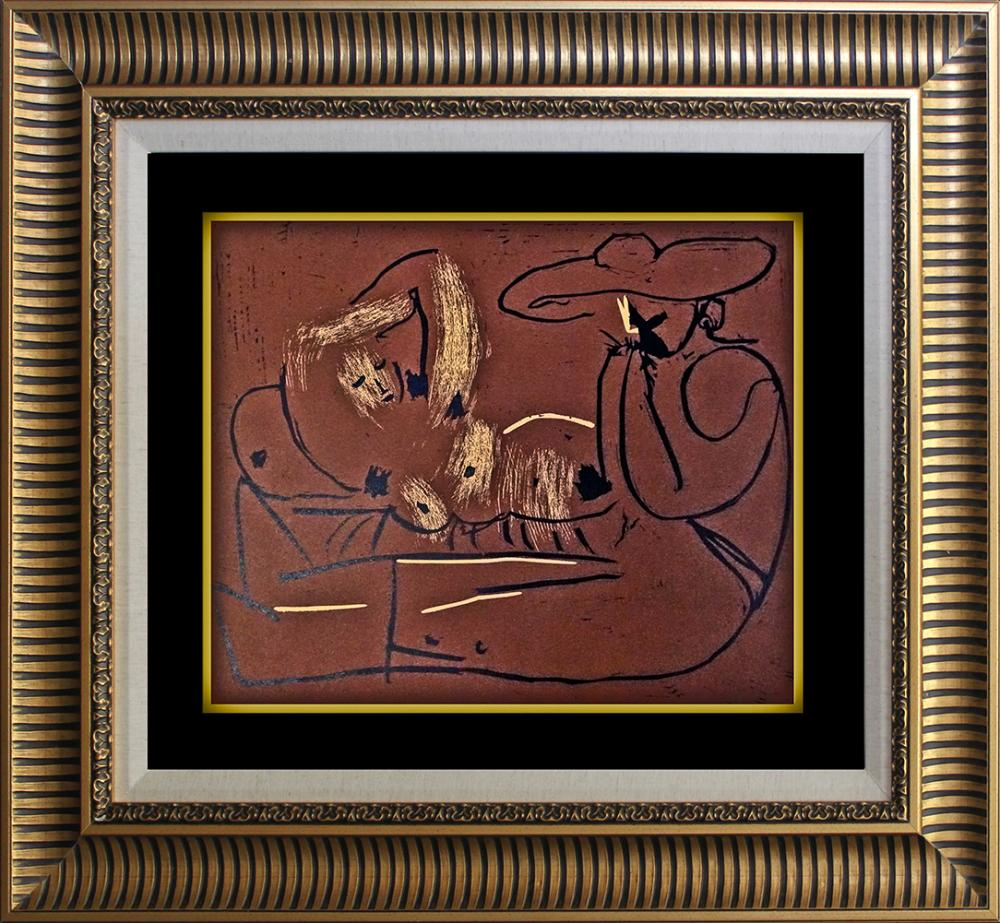 Lot 4825: Pablo Picasso Linocut from 1961
