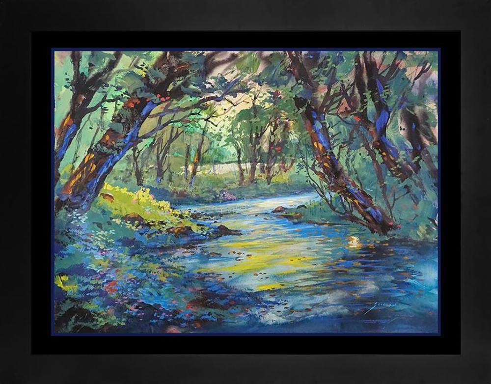 Lot 7020: Michael Schofield original landscape