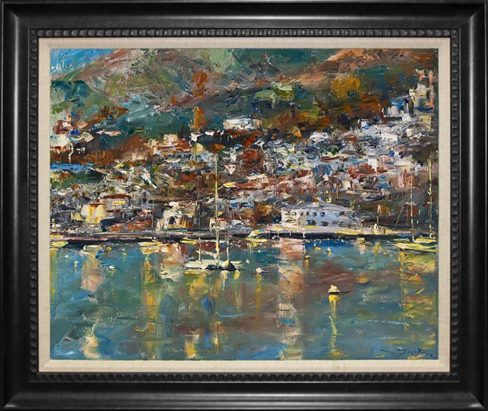 Lot 7002: Jorn Fox Original oil on canvas.