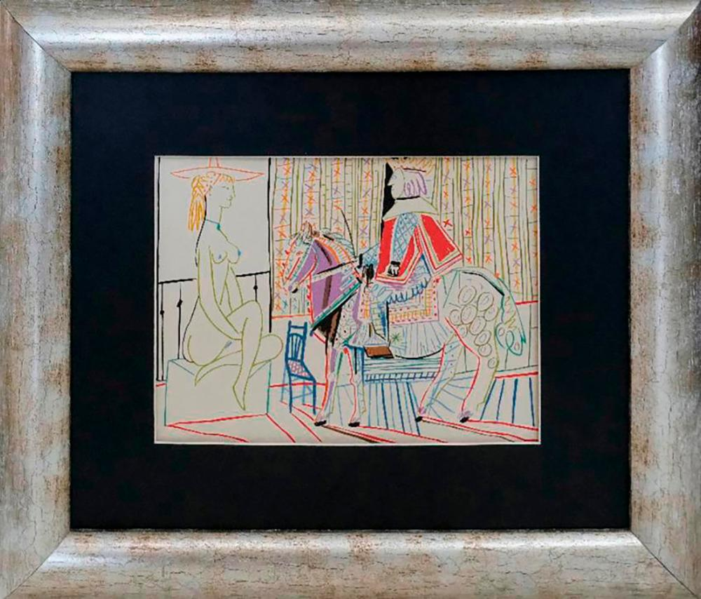 Lot 7043: Pablo Picasso Lithograph from 1968