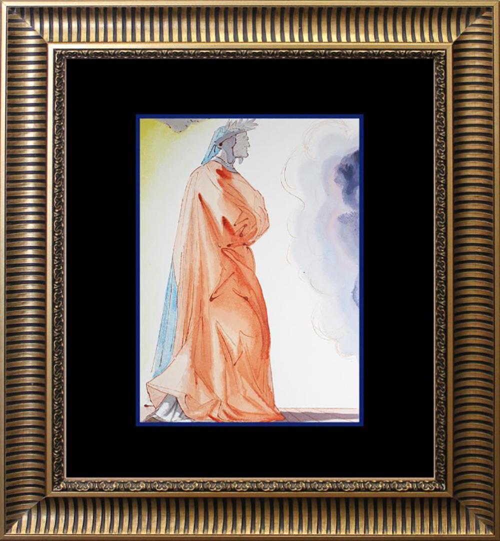 Lot 7070: Salvador Dali Original Wood Block Divine Comedy from 1960