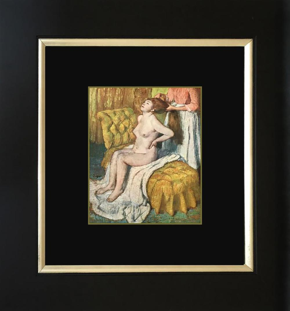 Lot 7076: Edgar Degas Color Plate Lithograph