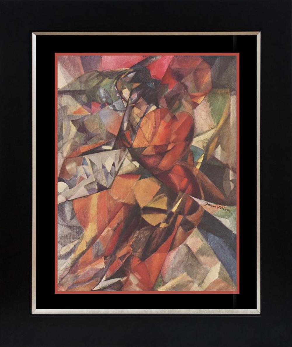 Jacque Villon Color Plate Lithograph