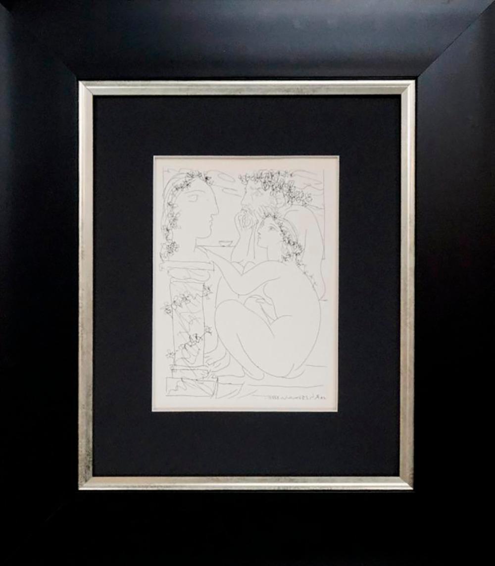 Pablo Picasso Original Lithograph 1955 Vollard Collection