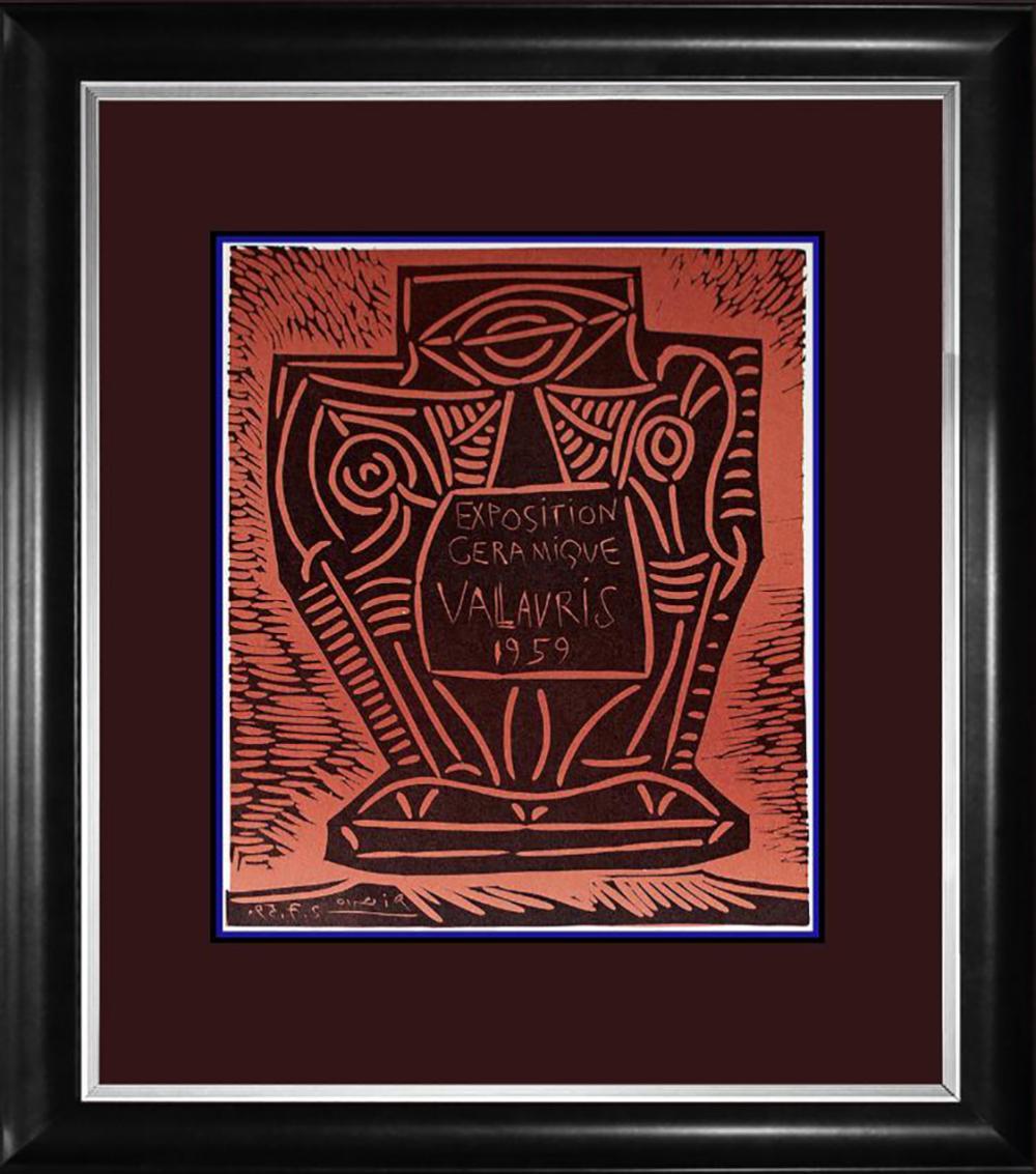 Pablo Picasso  Lithograph 1964
