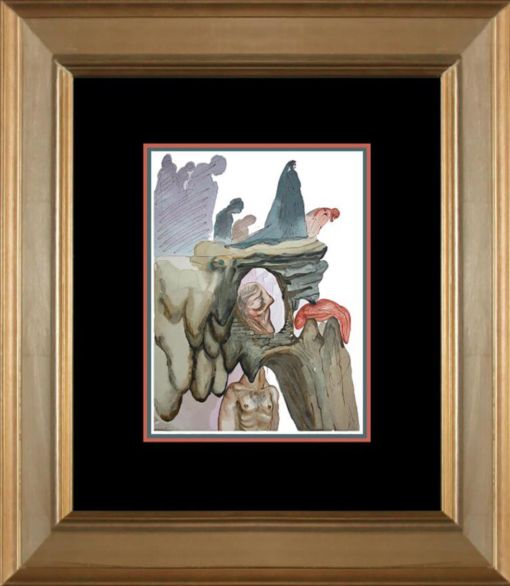 Lot 7109: Salvador Dali Original Wood Block Divine Comedy from 1960
