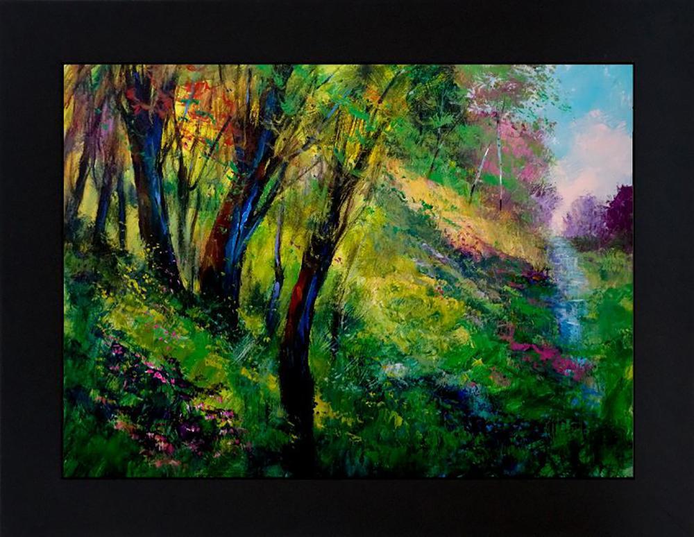 Lot 7118: Michael Schofield original on canvas Landscape