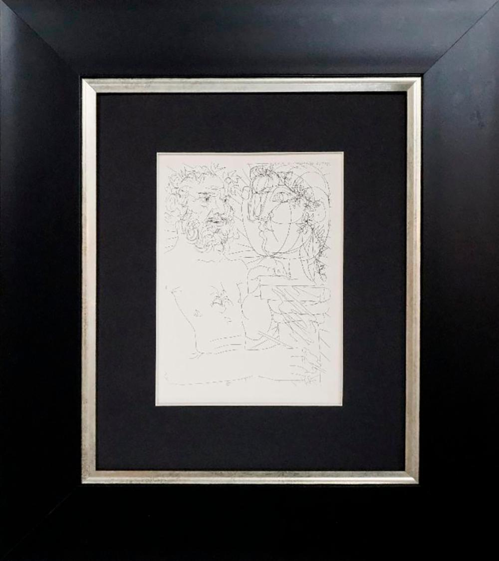 Lot 7150: Pablo Picasso Original Lithograph 1955 Vollard Collection