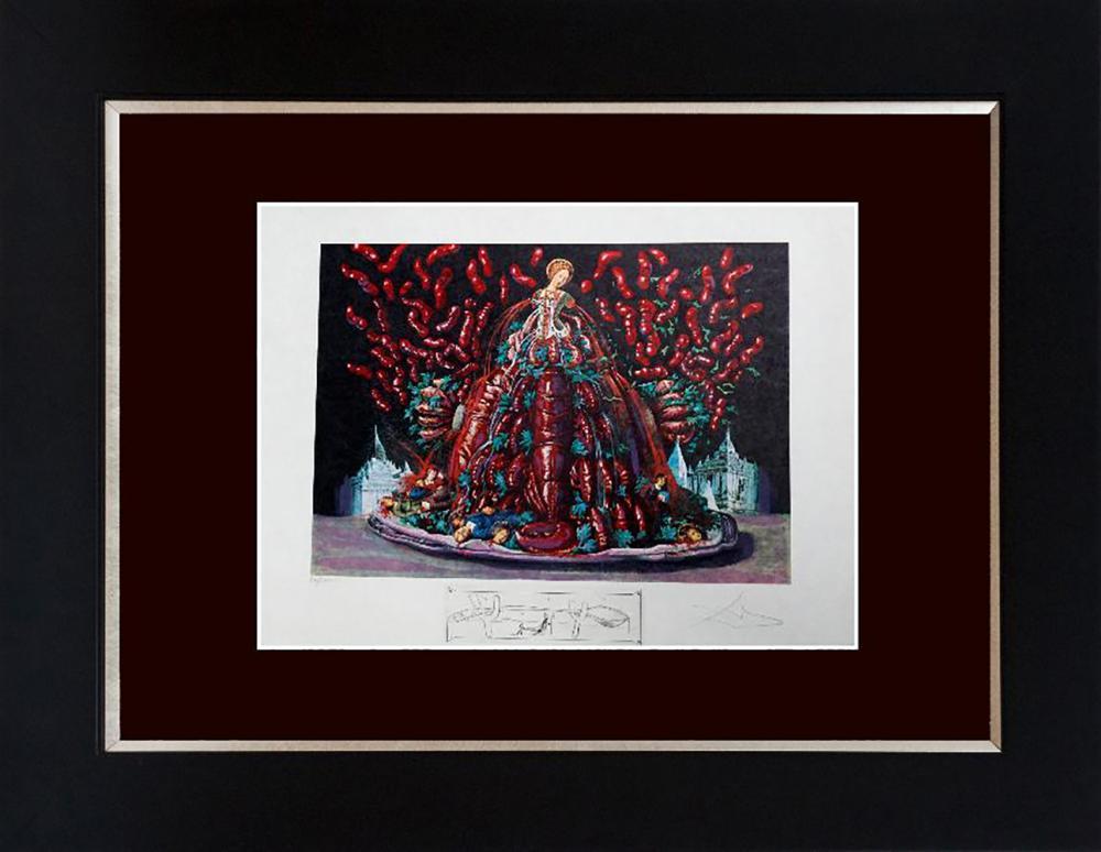 Lot 7129: Salvador Dali Limited Edition Lithograph