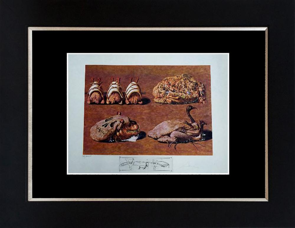 Lot 7128: Salvador Dali Limited Edition Lithograph