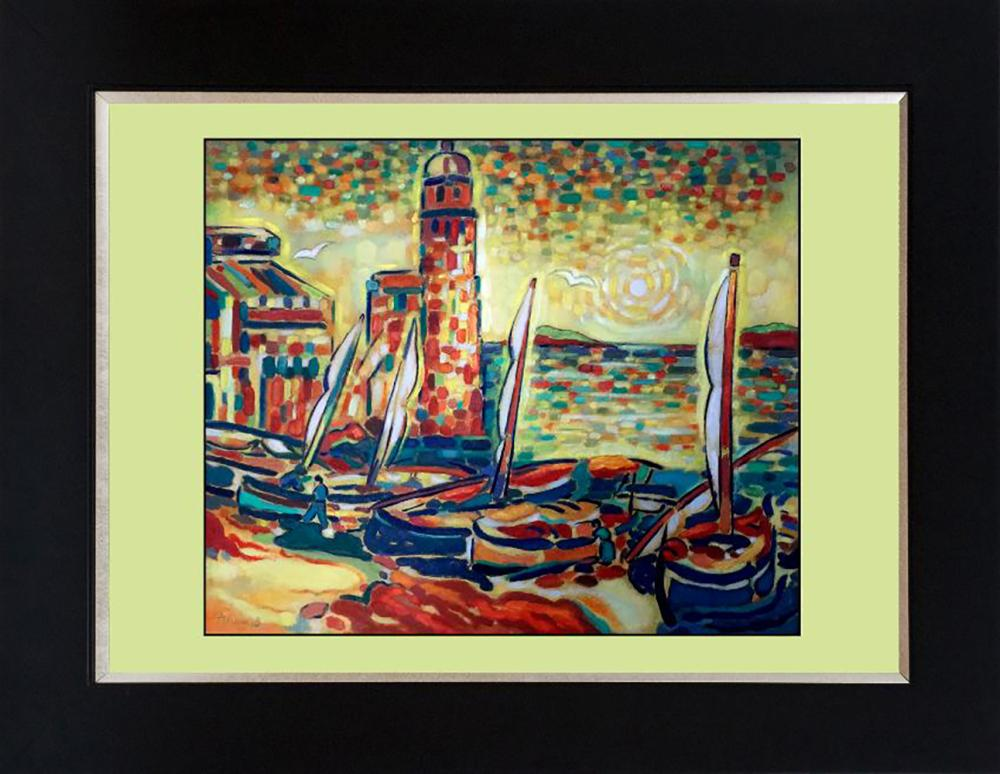 Lot 7164: Katherine Arion original on canvas