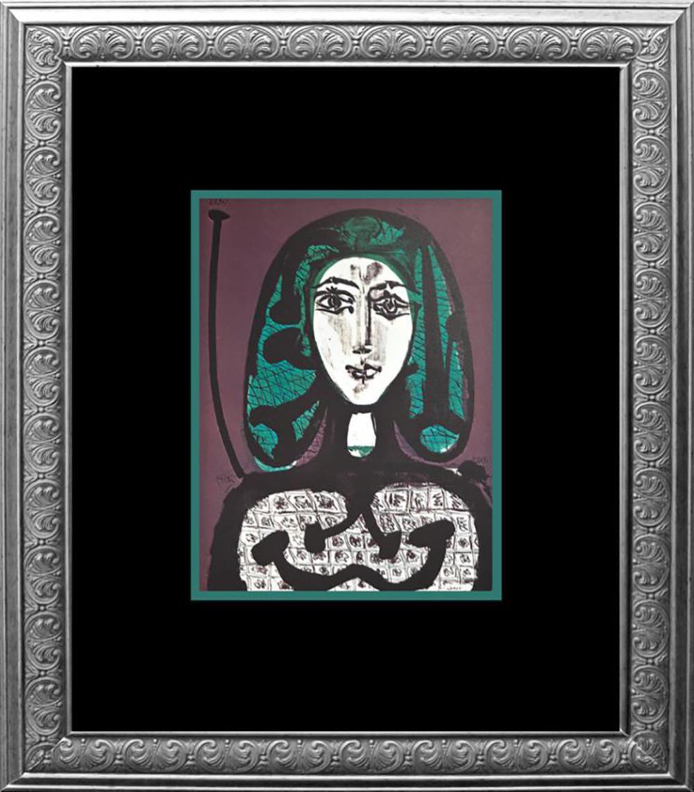 Lot 7179: 1973 Color Plate Lithograph Pablo Picasso