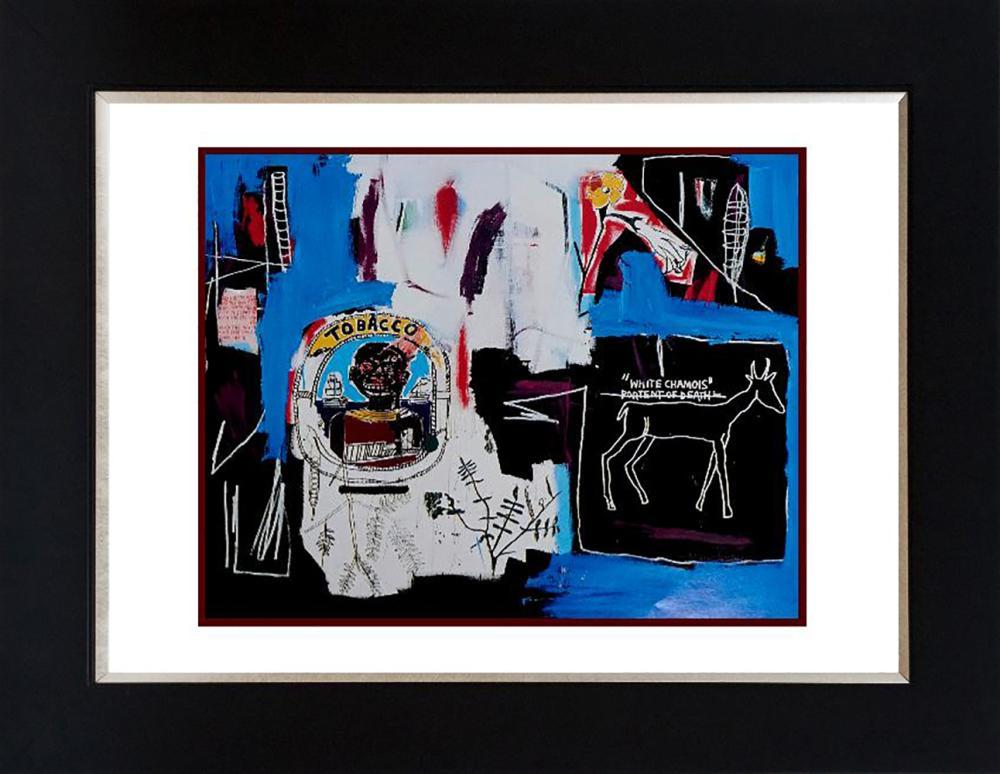Lot 7188: Jean Michel Basquiat color plate lithograph