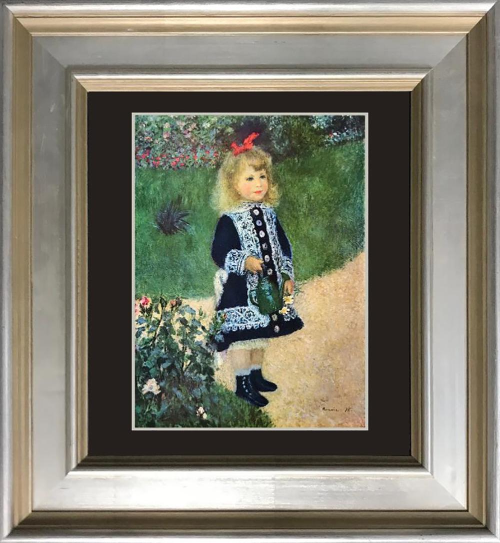 Renoir color plate lithograph