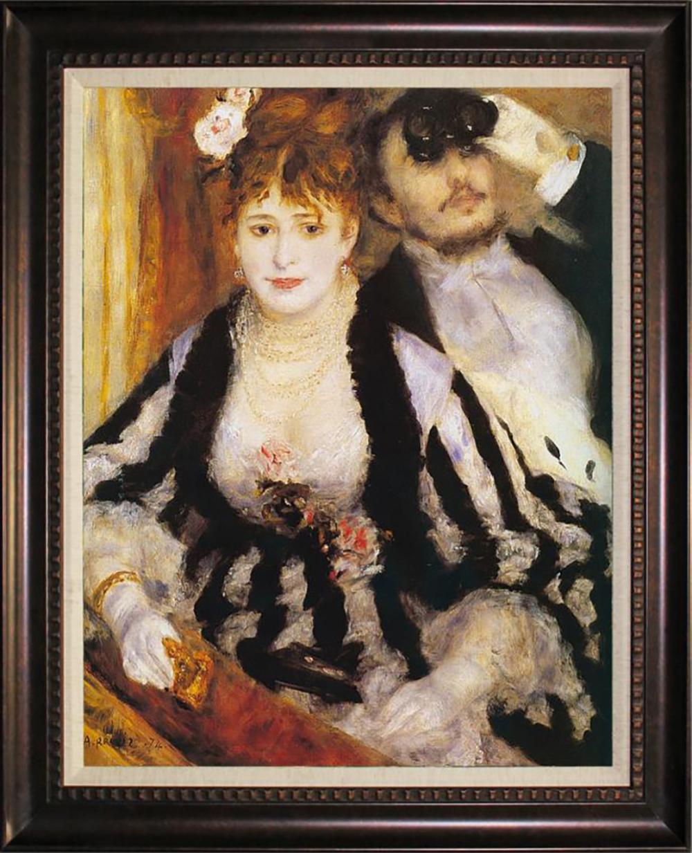 After Pierre Auguste Renoir, La Loge