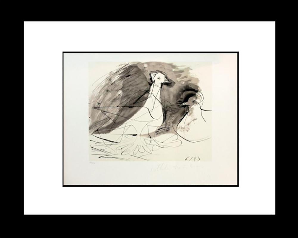 Lot 7215: Pablo Picasso Peace Dove Lithograph Marina Picasso Edition