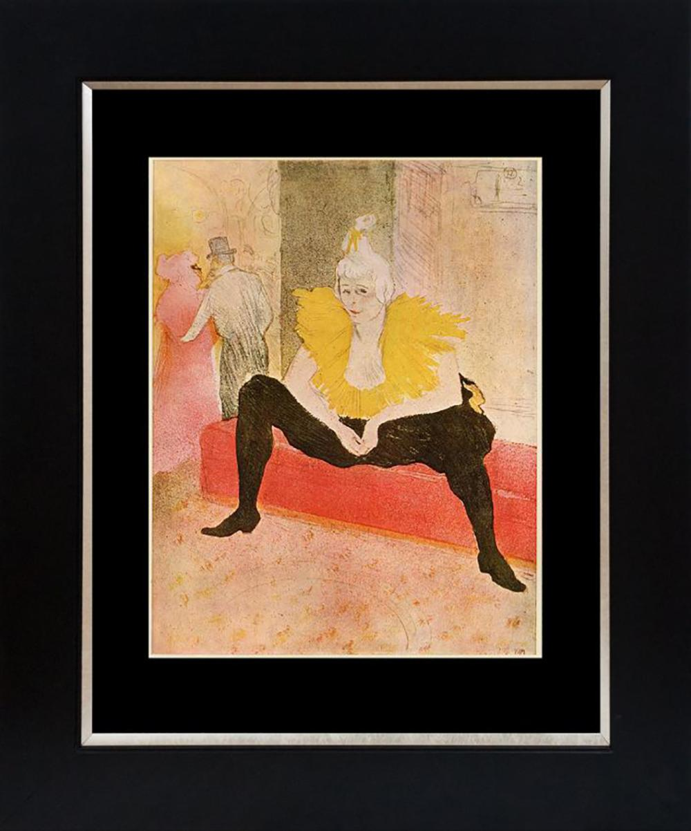 Lot 7219: Toulouse Lautrec Color Plate Lithograph