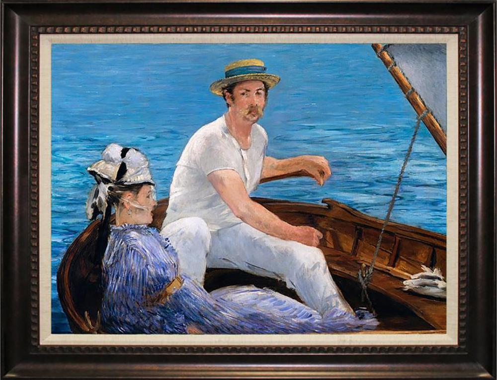 Lot 7221: Boating After Pierre Auguste Renoir