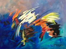 Zinovy Shersher  original oil on canvas