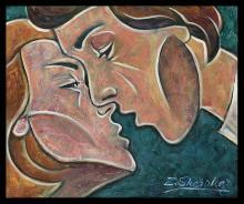 Original oil by Zinovy Shersher