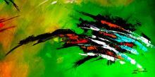 Zinovy Shersher Mixed media on canvas Abstract