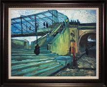 Vincent Van Gogh Limited Edition The Trinquetaille Bridge