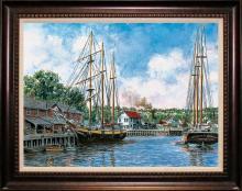 Stanton Manalakas Limited Edition Toothpick Harbor