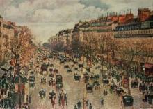 Pissarro Color Plate lithograph