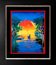 Peter Max Mixed Media on paper A Better World