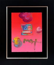 Peter Max Original mixed media