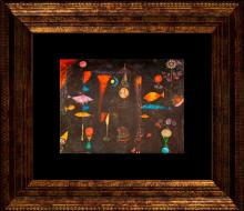 Paul Klee Color Plate Lithograph from 1957 Fish Magic
