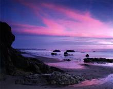 Nick Rodionoff-Photography on canvas-Magenta Sunset