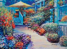 Howard Behrens Mixed media oil on canvas Limited Edition