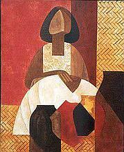 Lalo Garcia Original on canvas.